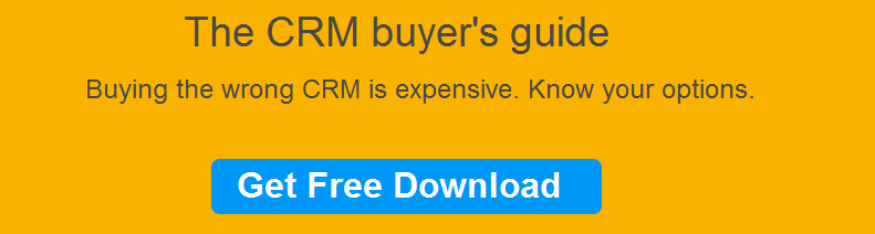 CRM buyers' guide