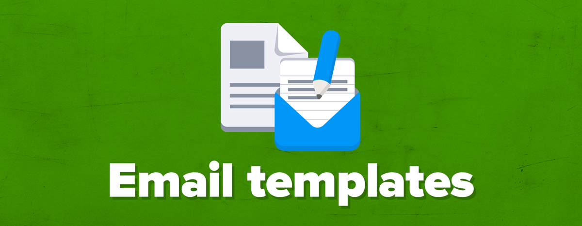 7 award winning customer service email templates free for Email templates for customer service