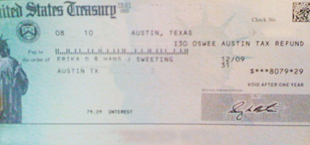 is this check legit?