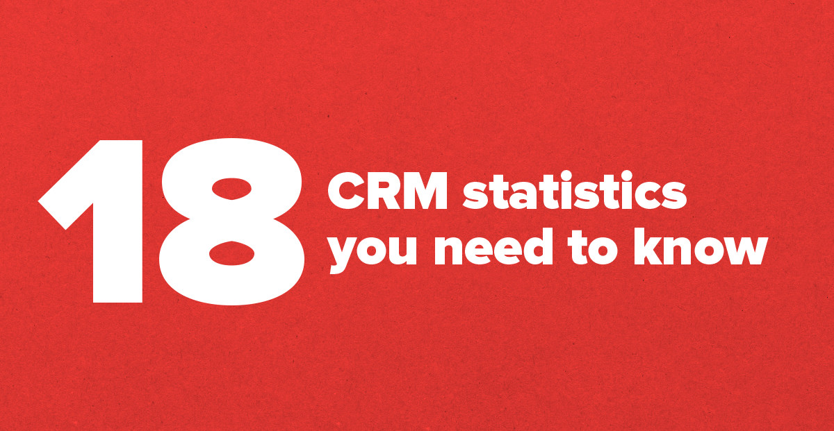 18 CRM Statistics You Need to Know for 2016
