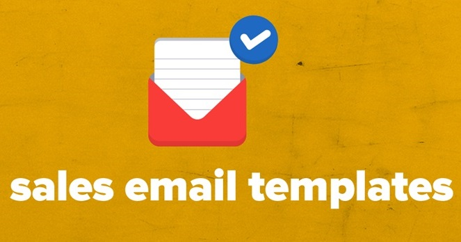 12 sales email templates every sales person needs