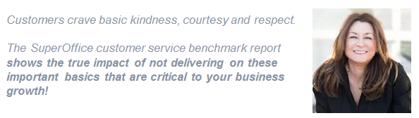 Jeanne Bliss quote on customer service benchmark report
