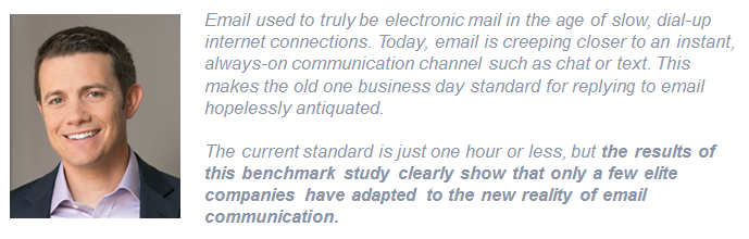 Jeff Toister quote on customer service benchmark report