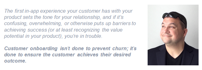 Lincoln Murphy quote on customer onboarding