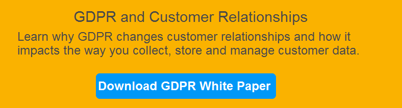 GDPR for Customer relationships