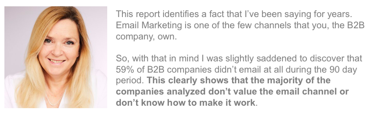 Kath Pay B2B email marketing report