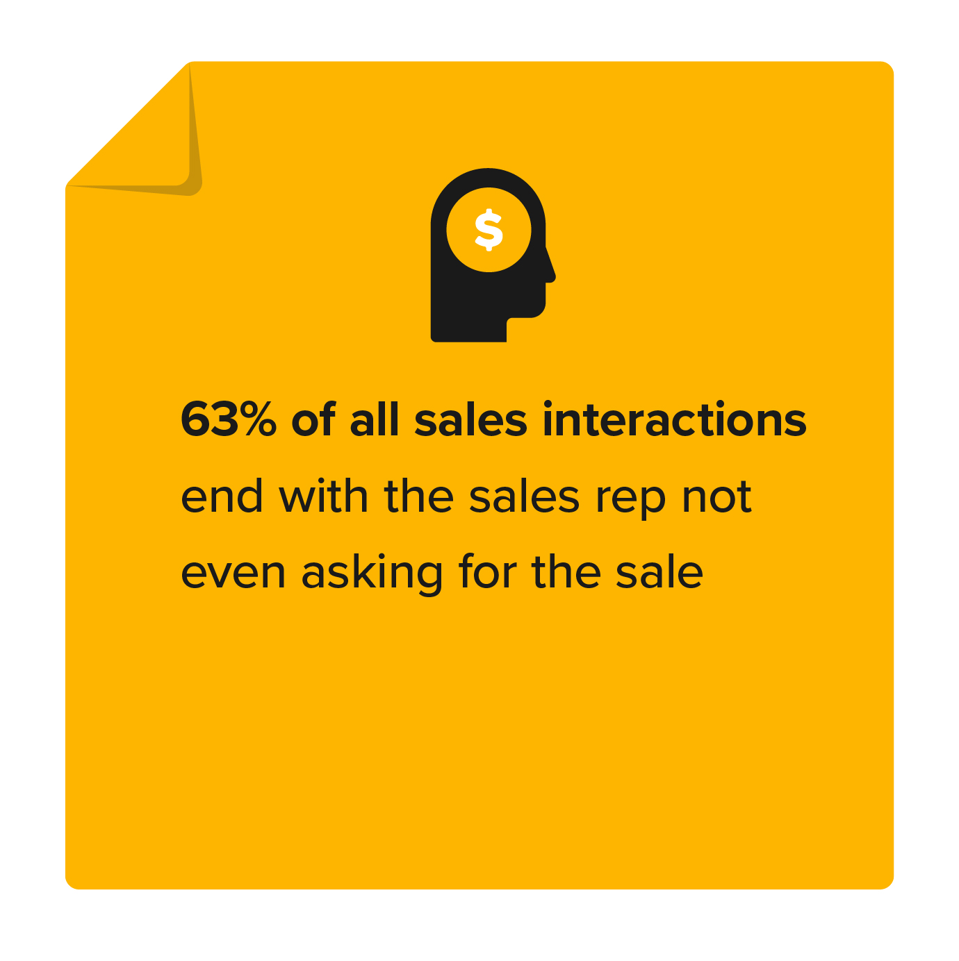 Most sales reps forget to ask for the sale