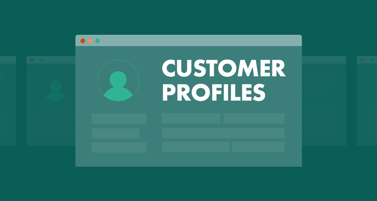 Customer profiles and templates