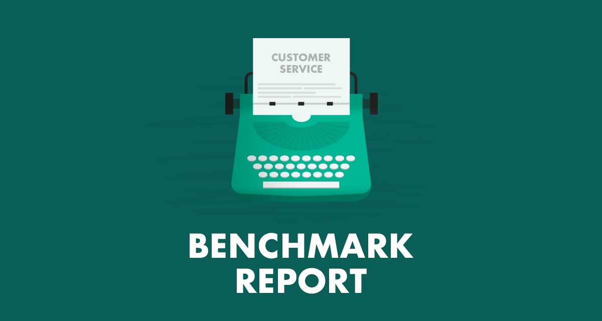 Customer service benchmark report