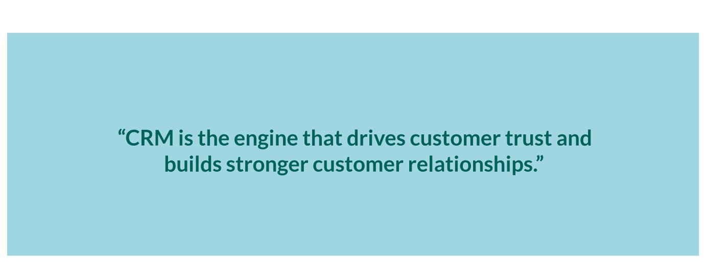 crm builds strong customer relationships