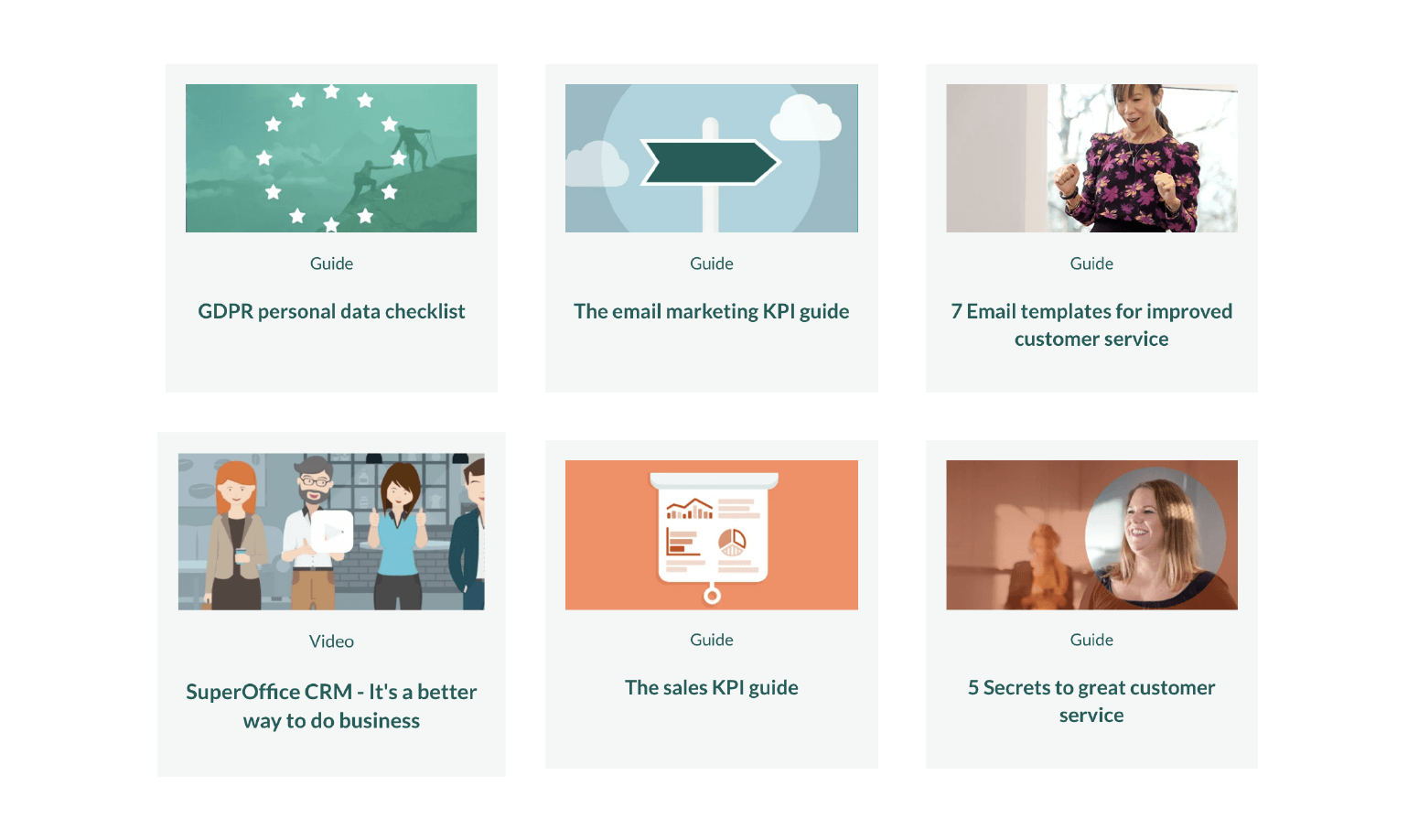 content library for b2b sales