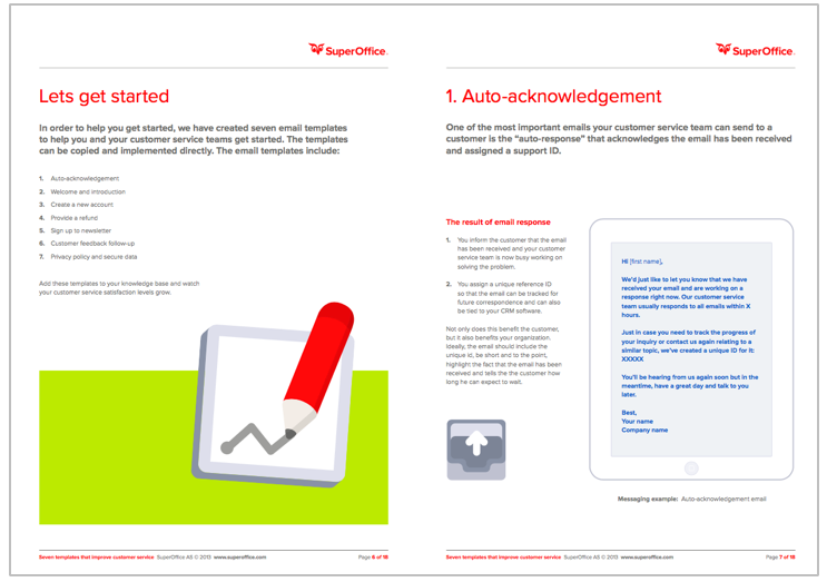 7 Award Winning Customer Service Email Templates
