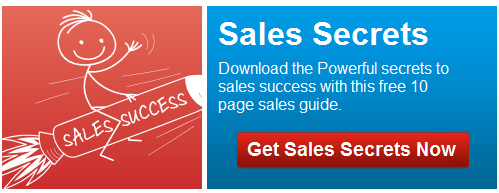 secrets to sales success