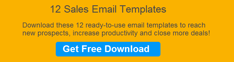 12 sales email templates