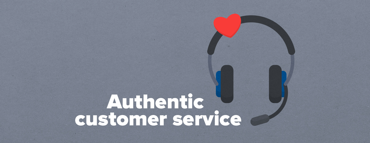 How to provide authentic customer service