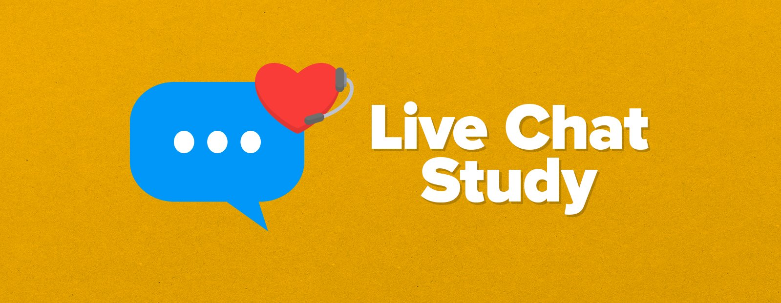 Live chat research study