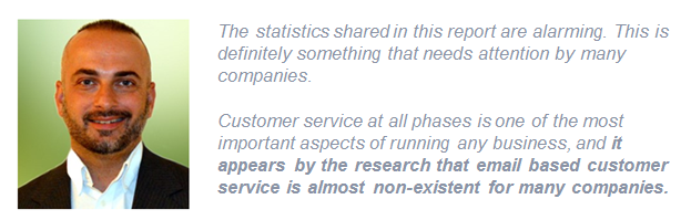 Chad Armal quote on customer service study 2017