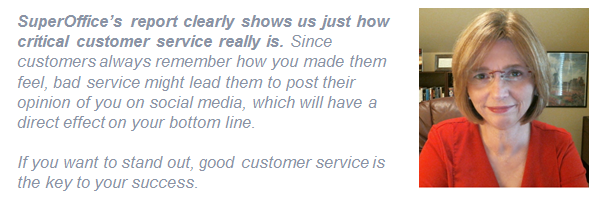 Katharine Giovanni quote on customer service benchmark report 2017