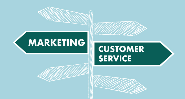 Customer service and marketing