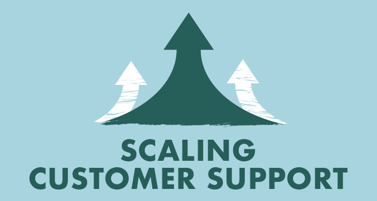 Scaling customer support